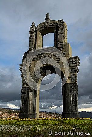 Indigenous arch, La Paz