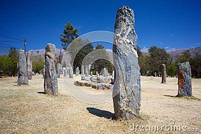 Indigenous stone