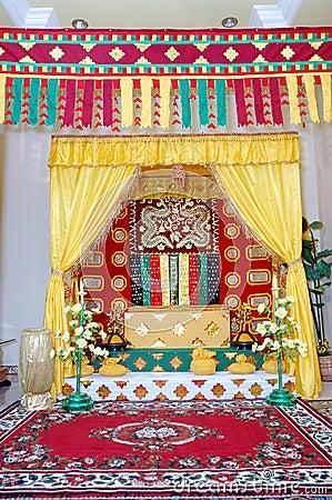 Indigenous traditional wedding