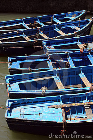 Indigo boats