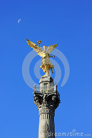Free Indipendence Monument, Mexico City Stock Photos - 31375523
