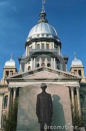 Indique el capitolio de Illinois