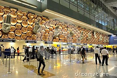 Indira Gandhi International Airport Editorial Stock Image