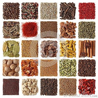 Indische kruideninzameling