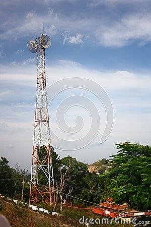 Indiskt telekommunikationtorn
