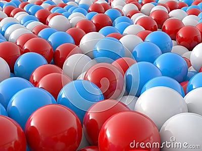 Individuality balls 3d
