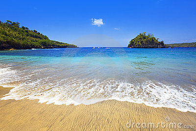 Indonesia. Bali. Island in ocean