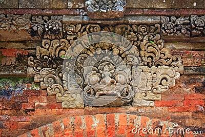 Indonesia, Bali: Sculpture of Kala