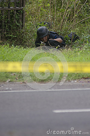 INDONESIA BOMB SQUAD Editorial Image