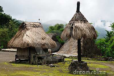 Indonesia, Flores, Bena village