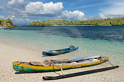 Indonesia, Flores, Komodo National Park Editorial Stock Image
