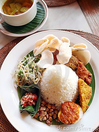 Indonesian & bali ethnic cuisine