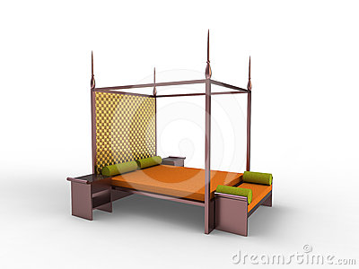 Indonesian bedroom 2 stock image image 24328161 - Bedroom furniture made in indonesia ...