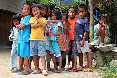 Indonesian children Editorial Photography