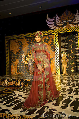 Indonesian Culture Fashion Show Editorial Image