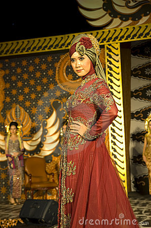 Indonesian Culture Fashion Show Editorial Stock Photo  Image: 14867803