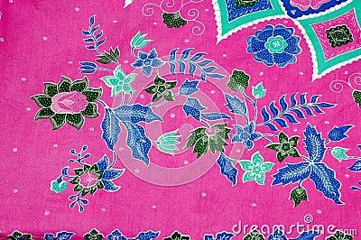 Indonesian fabric design