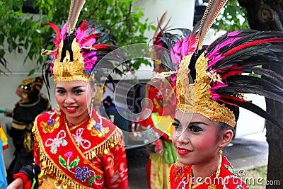 Indonesian girls Editorial Stock Image