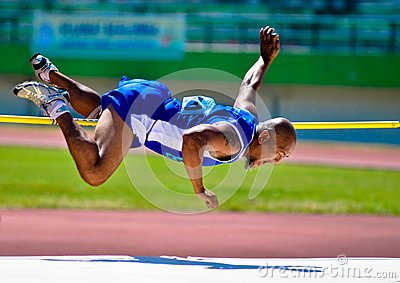 INDONESIAN SENIOR ATHLETES Editorial Stock Image