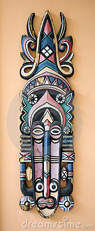 Indonesian wall decoration