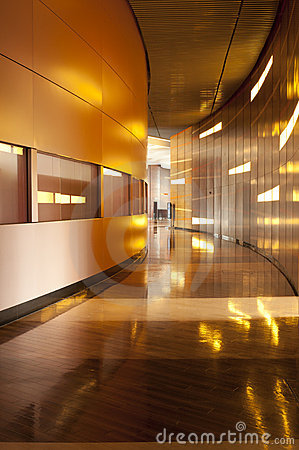 Indoor architecture (corridor)