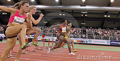 Indoor Athletics Meeting Editorial Photo