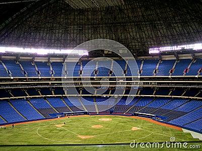Indoor Baseball Diamond