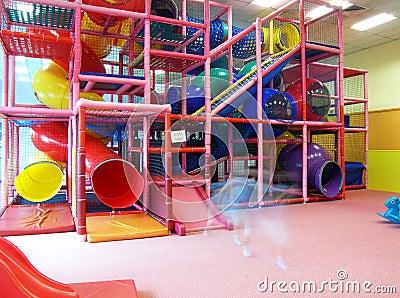 Indoor children playground structure