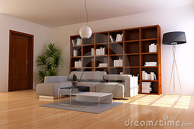 Indoor contemporary sitting room