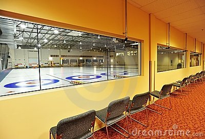 Indoor curling rinks
