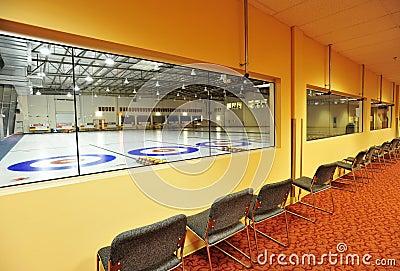 Indoor curling rinks
