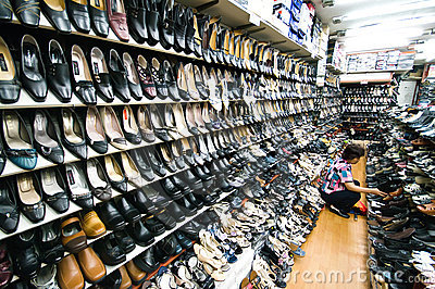 Indoor market of Iksan, South Korea Editorial Stock Photo