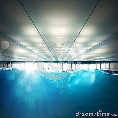 Indoor Swimming Pool Stock Photo Image 66354799