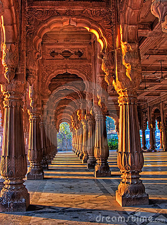 Free Indore Rajwada, The Royal Palace Of Indore, India Royalty Free Stock Photography - 7436627