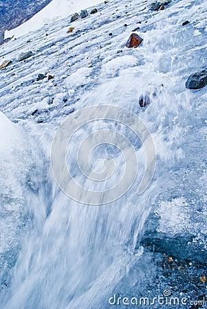 Indren glacier