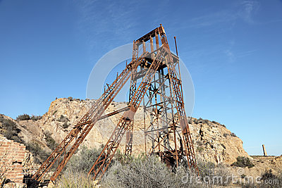 Industiral ruin of the old mine
