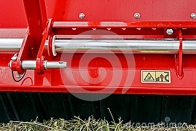 Industrial and agricultural equipment with warning sign 2