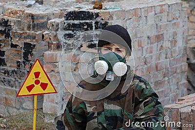 Industrial archeology. Nuclear tourist