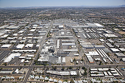 Industrial Area of Tempe