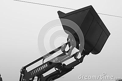 Industrial bucket loader