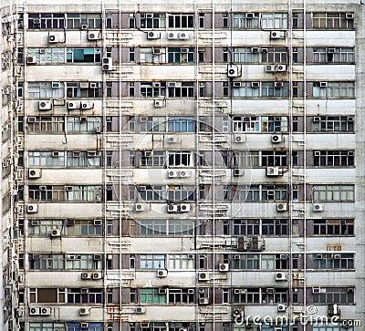 Industrial Building Exterior Texture