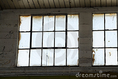 Industrial Building window