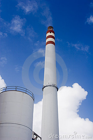 Industrial chimney