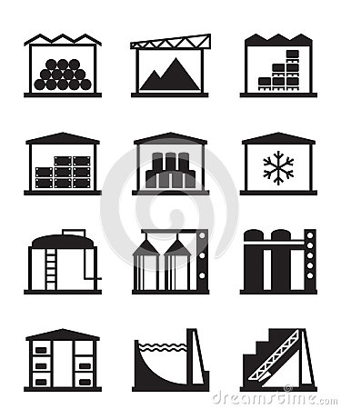 Industrial and commercial warehouses