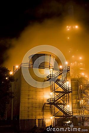 Industrial complex & Mist