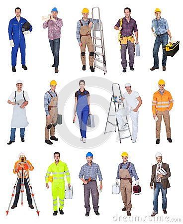 Free Industrial Construction Workers Royalty Free Stock Photos - 29378398