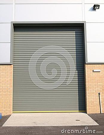 Free Industrial Despatch Door Stock Image - 1145641