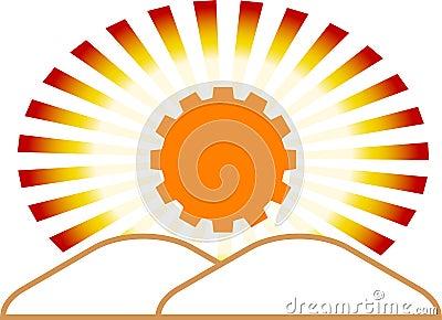 Industrial emblem