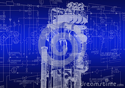 Industrial Engineering Stock Illustration - Image: 40850292
