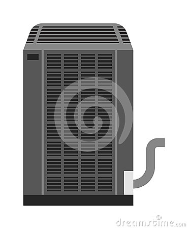 Free Industrial Fan Vector Illustration. Royalty Free Stock Images - 73827689